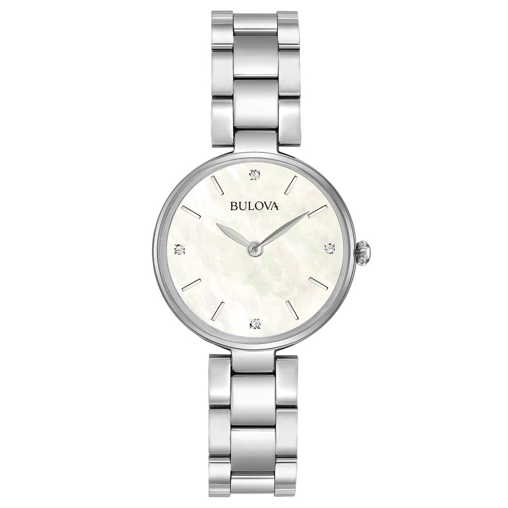 Ladies Bulova Classic Diamond Watch - 96S159