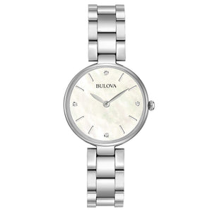 Load image into Gallery viewer, Ladies Bulova Classic Diamond Watch - 96S159