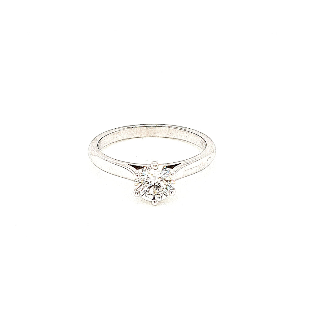 Platinum Diamond Solitaire Engagement Ring - Diana O'Mahony Jewellers