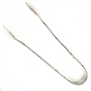 Victorian Sterling Silver Sugar Tongs