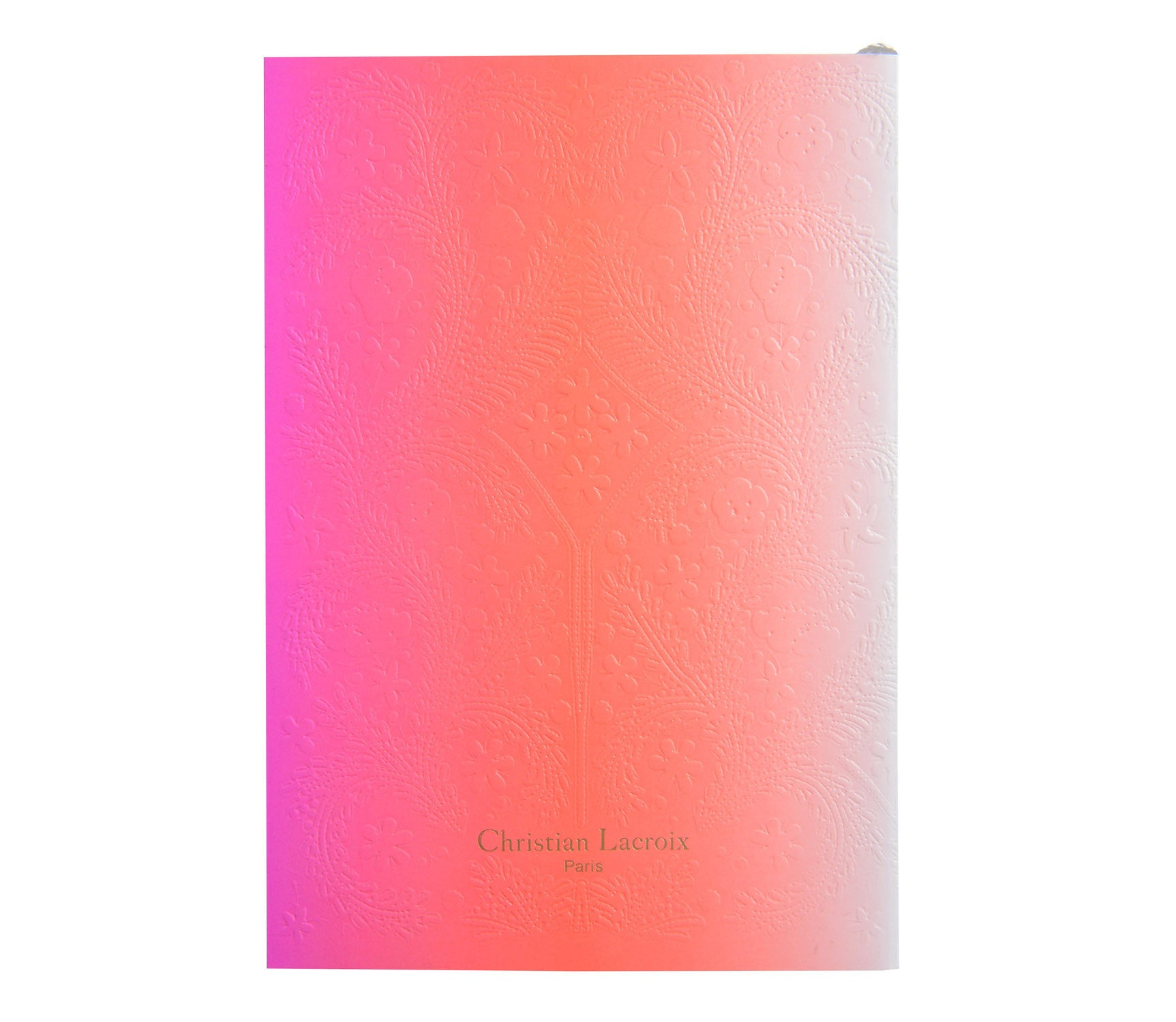 CHRISTIAN LACROIX A5 Hot Pink Journal