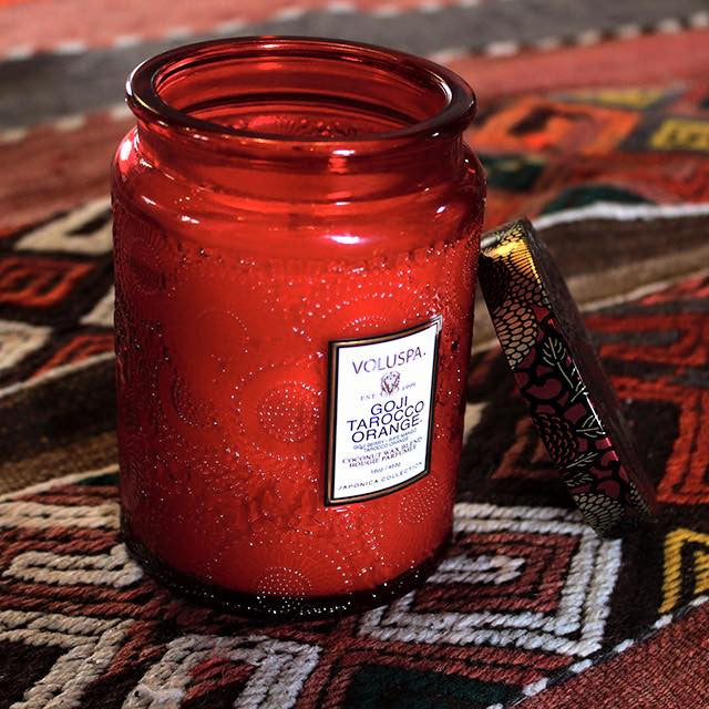 VOLUSPA Large Goji & Tarocco 100hr Candle