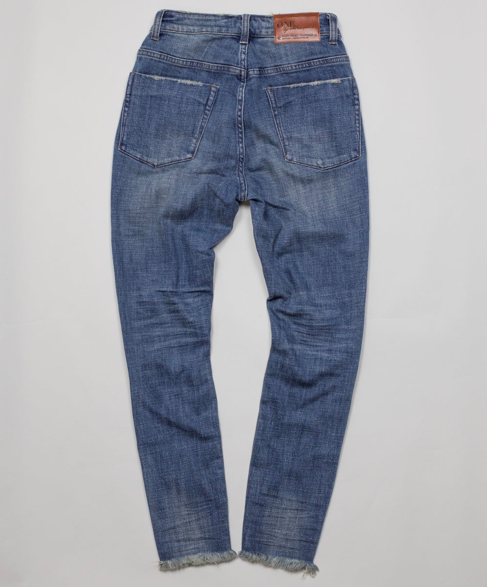 ONE TEASPOON - Vintage Indigo Freebirds II High Waist Jeans