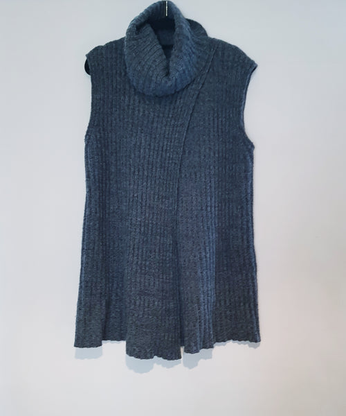 COUNTRY ROAD - Grey Knit Vest - PRELOVED
