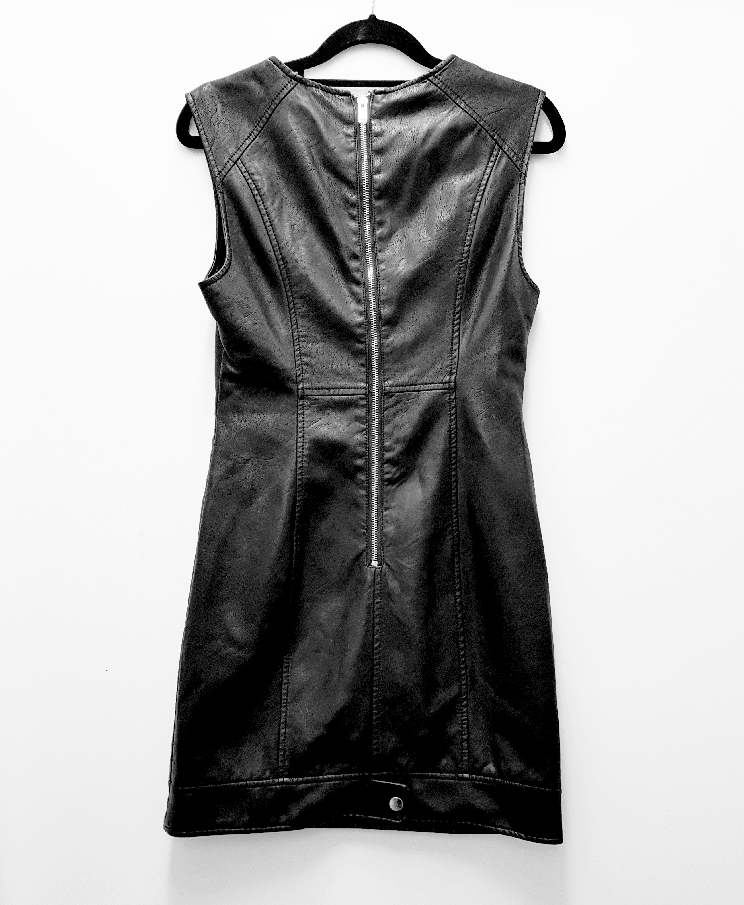 FOREVER 21 - Faux Leather Dress - PRELOVED