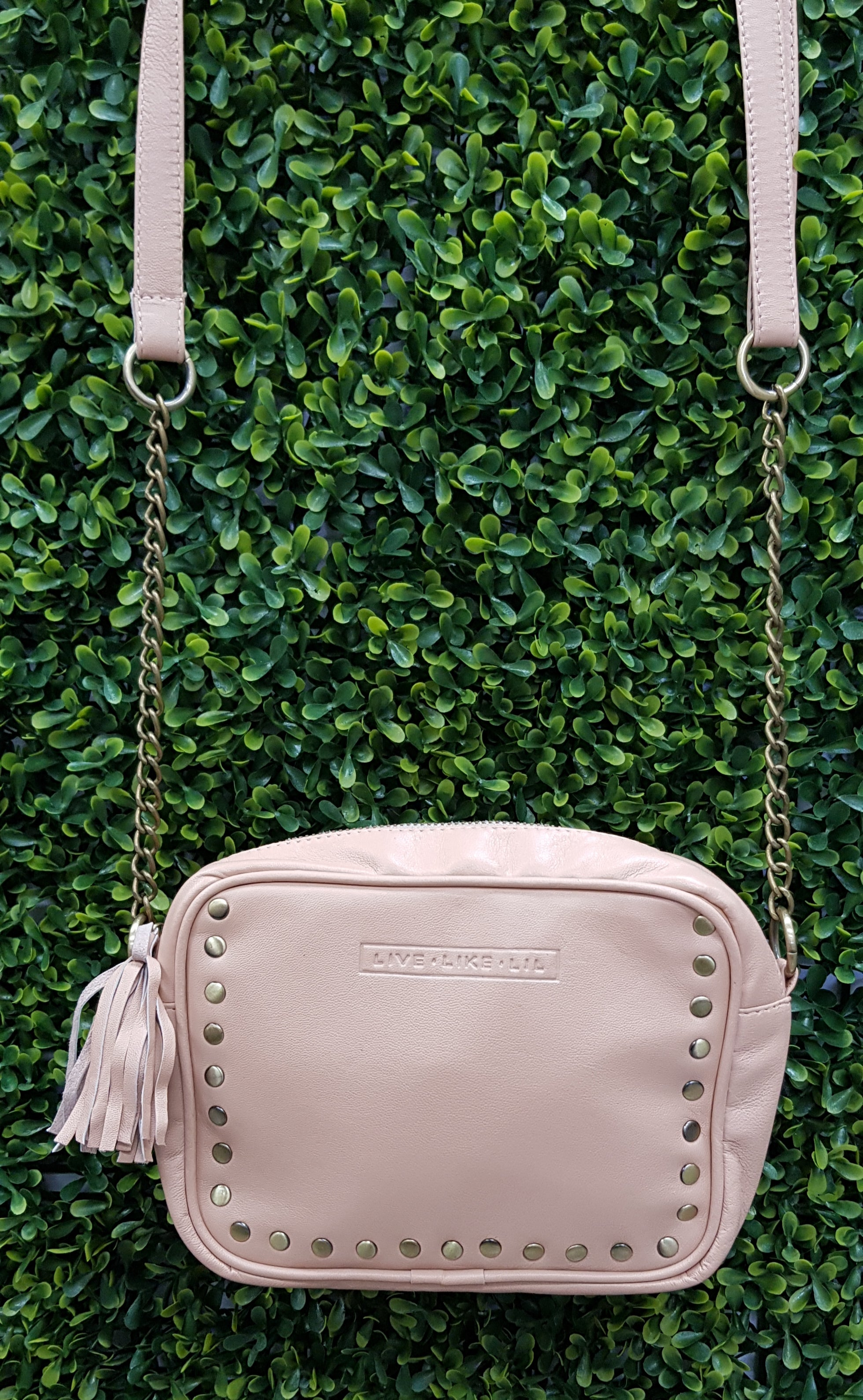 LIVE LIKE LIL - Blush Willow Bag