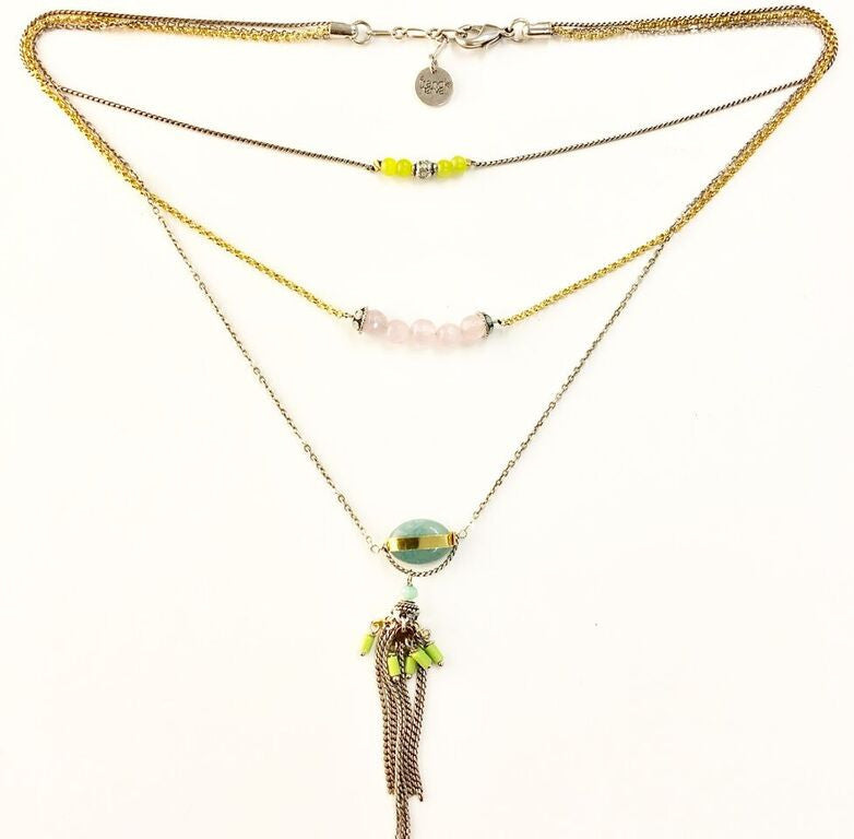 lilou - 3 layer necklace