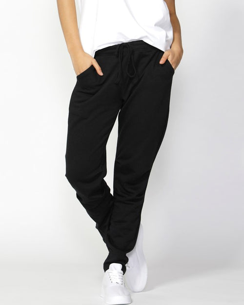 BETTY BASICS - Black Reese Lounge Pants