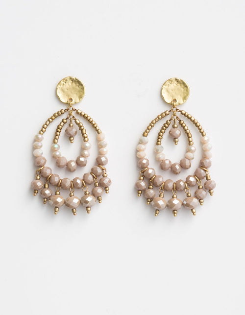 STELLA + GEMMA - Boho Beaded Earring