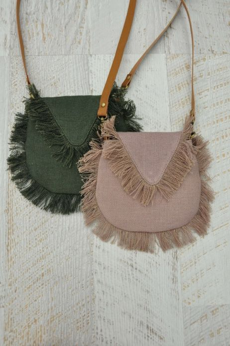 HUMIDITY - Canvas Fringe Bag