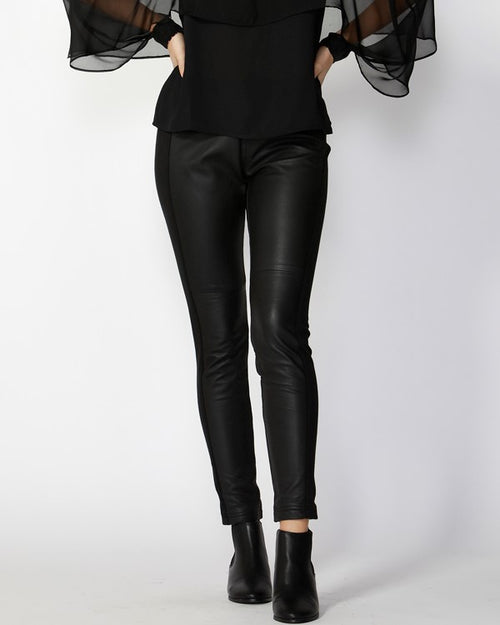 FATE & BECKER - Harlem Leather & Ponte Pant