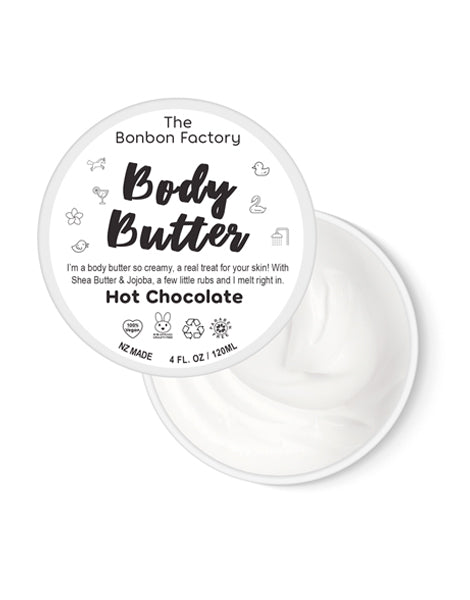 BONBON VEGAN - Hot Chocolate Body Butter