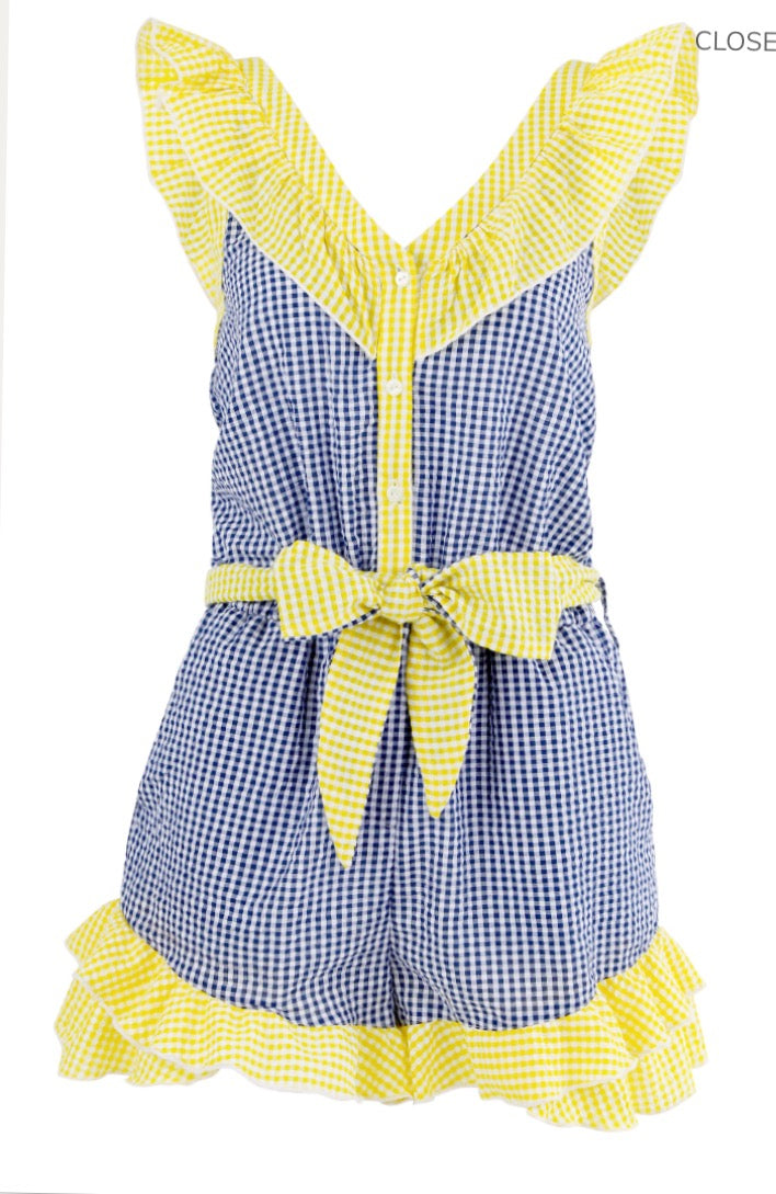 COOP - Check Me Out Playsuit - CLEARANCE
