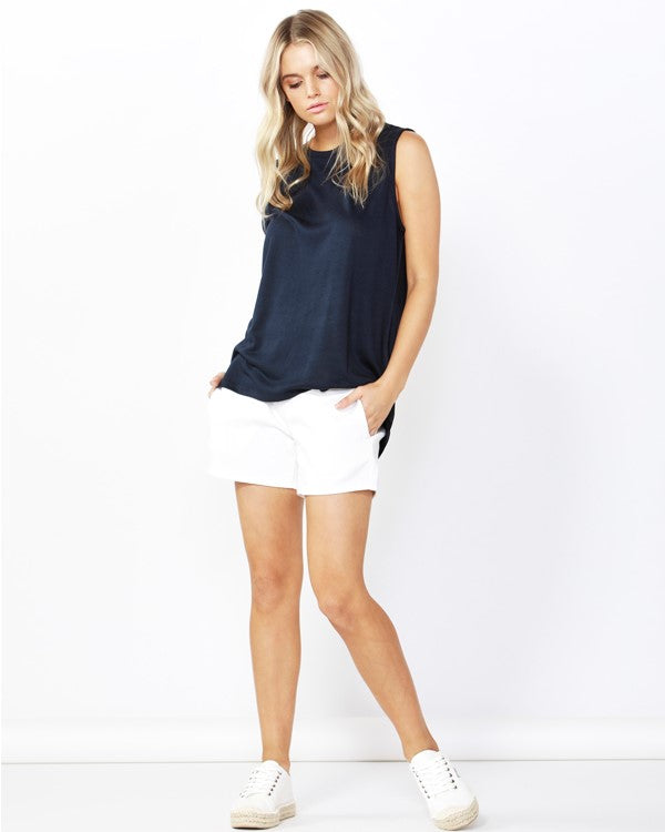 BETTY BASICS - Ink Capri Tank