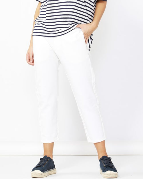 BETTY BASICS - White Jude Pant