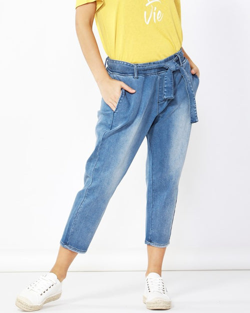 BETTY BASICS - Indigo Jude Pants