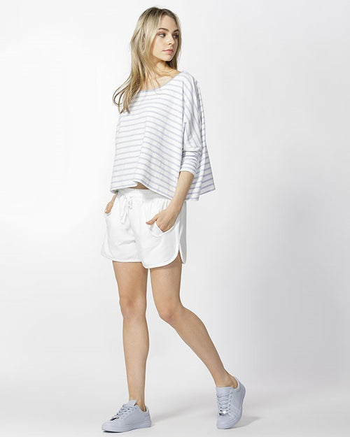 BETTY BASICS - Ivory Kendall Short
