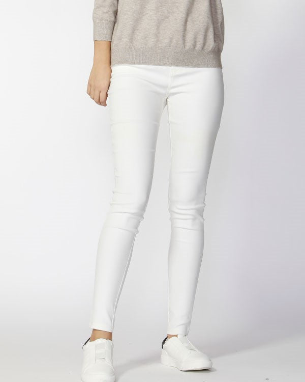 FATE & BECKER - Snow White Lenox Essential Coated Pant