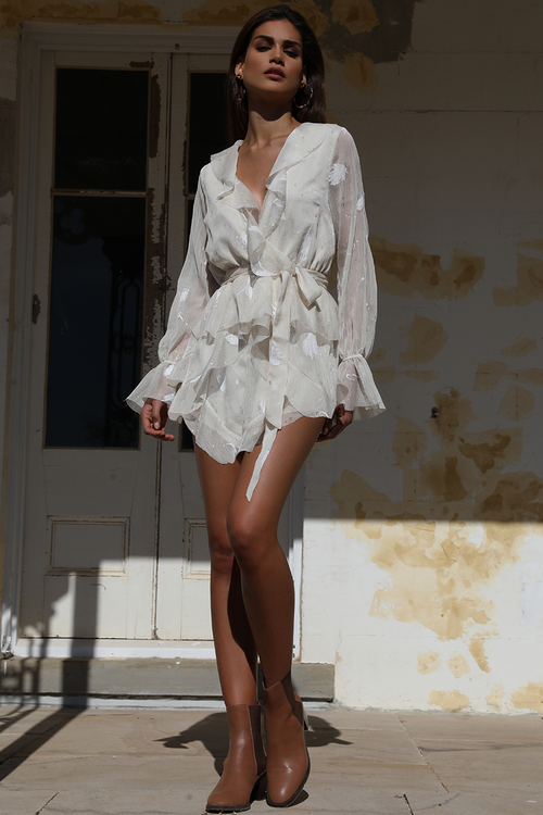 PREM THE LABEL - Peace Paint Playsuit
