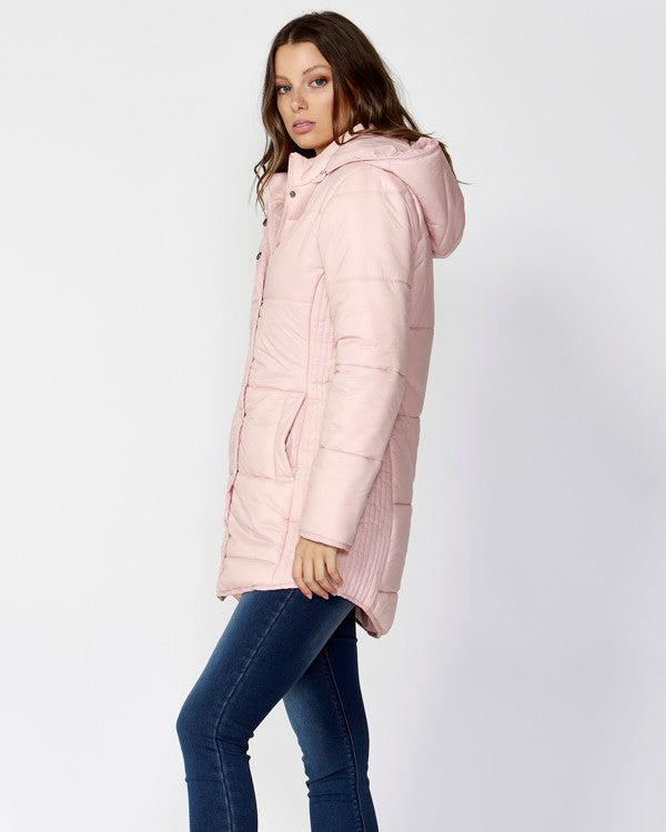 BETTY BASICS - Petal Ashton Long Puffer Jacket -SALE