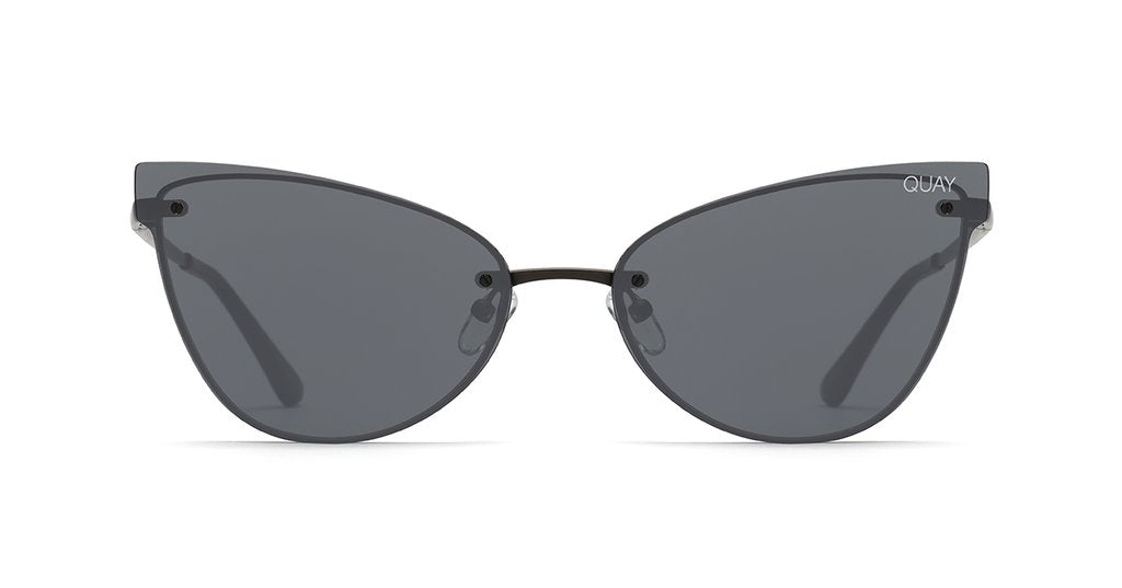 QUAY AUSTRALIA - Black/Smoke Lady Luck Sunglasses