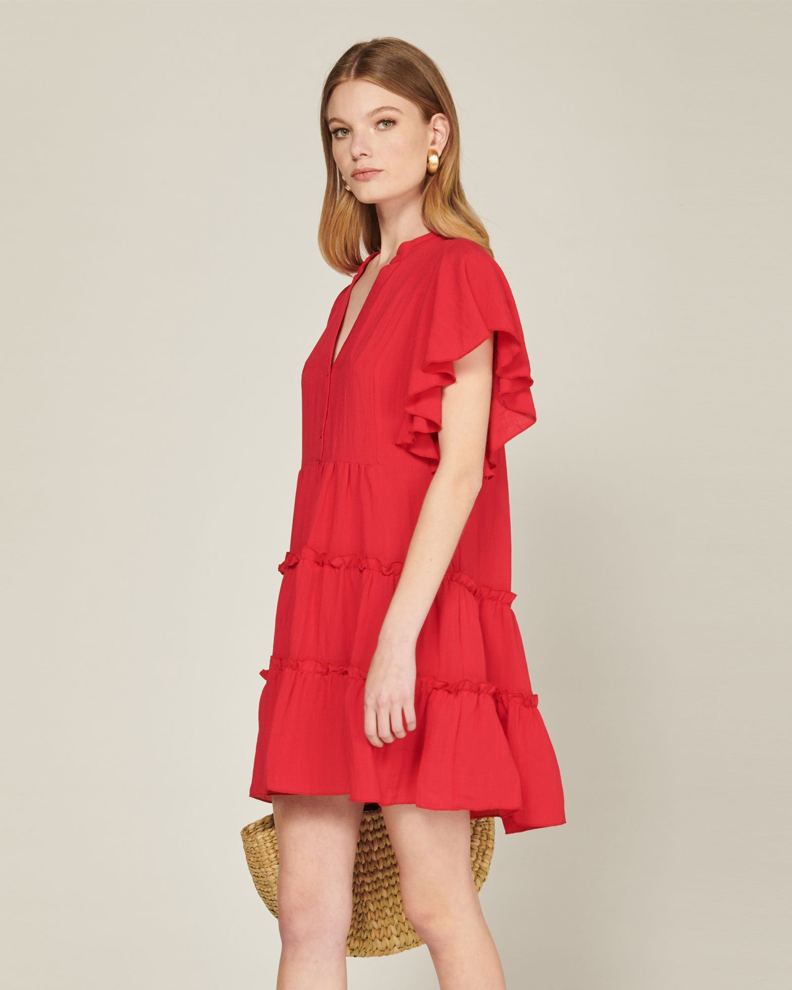 MVN - Raspberry Kiss Mini Dress