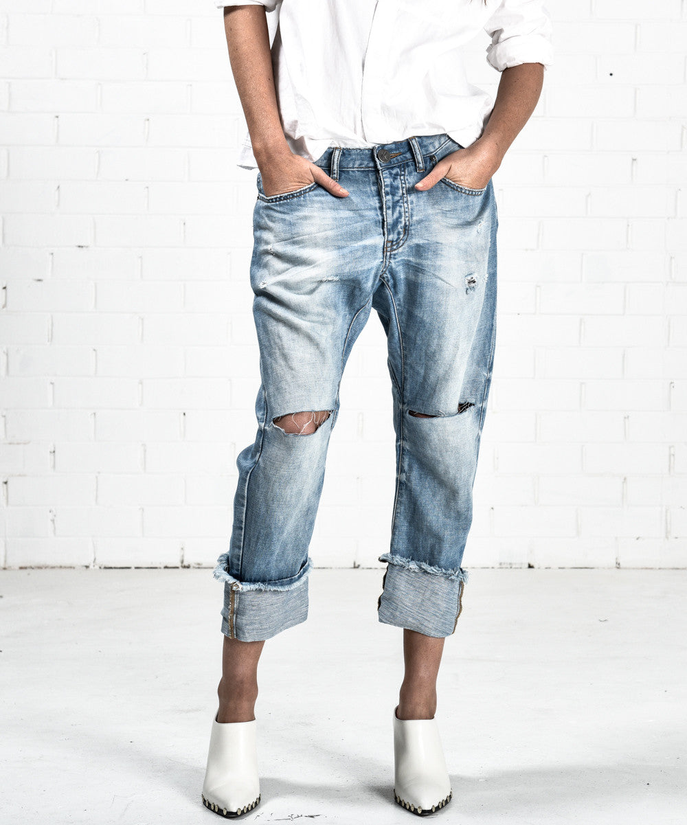 ONE TEASPOON Blue Jane Saints Jeans - CLEARANCE