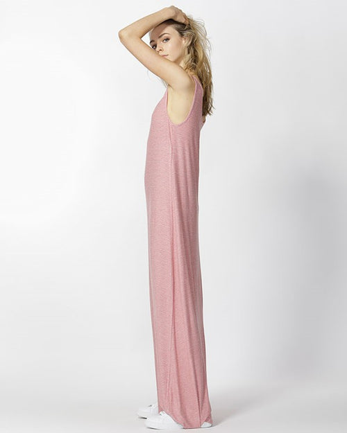 BETTY BASICS - Rose/White Seville Dress
