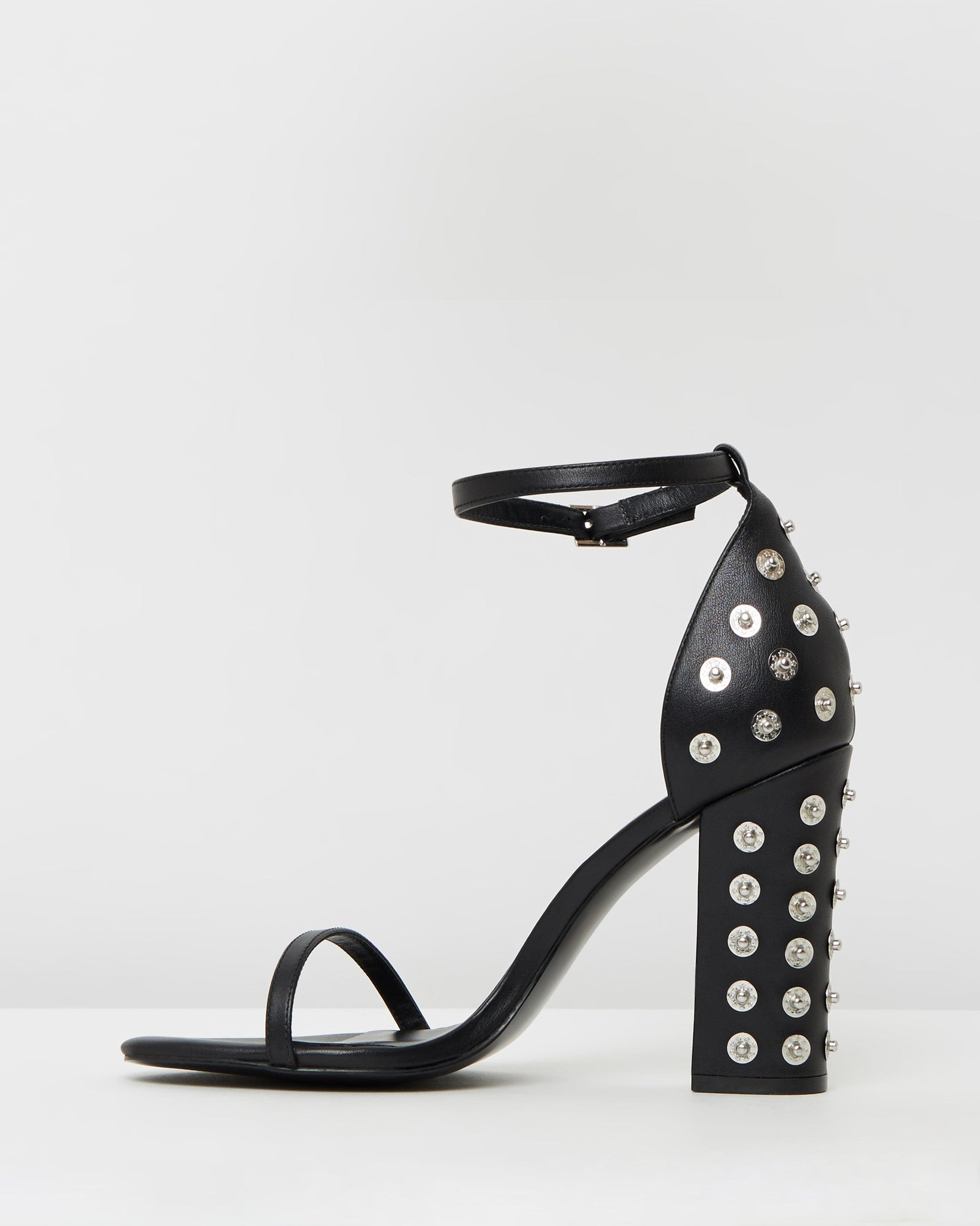 THE MODE COLLECTIVE Studded Block Heel