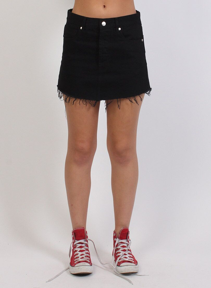 FEDERATION - Black Welcome Skirt