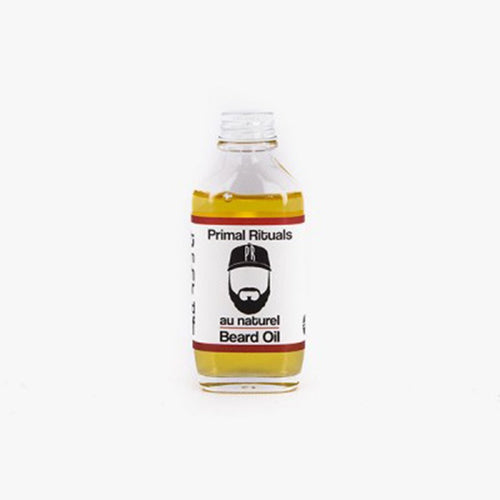PRIMAL RITUALS Au Natural Beard Oil