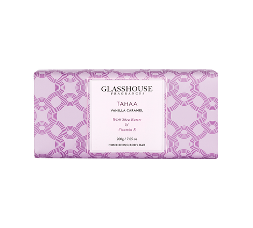 GLASSHOUSE - Tahaa 200gm Body Bar