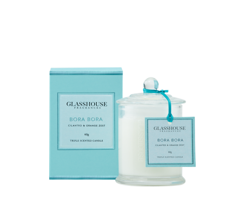 GLASSHOUSE - Bora Bora 60g Candle