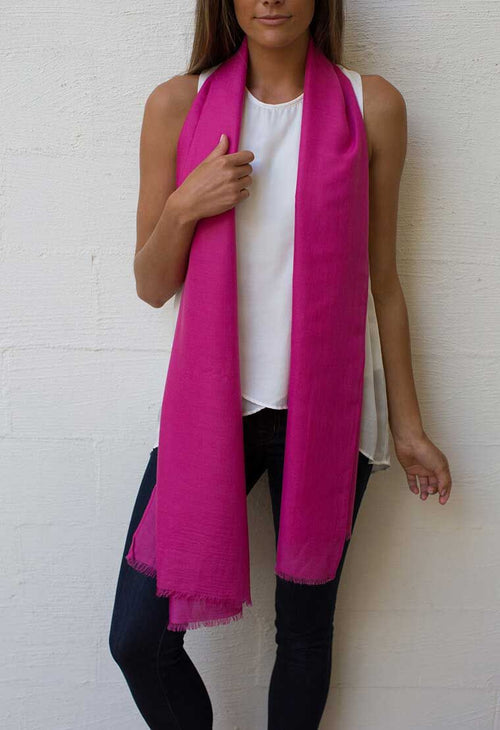 HUMIDITY - Fuschia Everyday Scarf