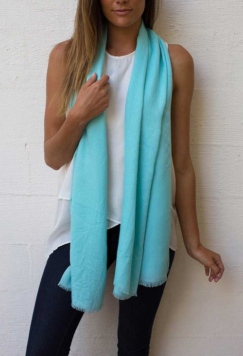 HUMIDITY - Turquoise Everyday Scarf