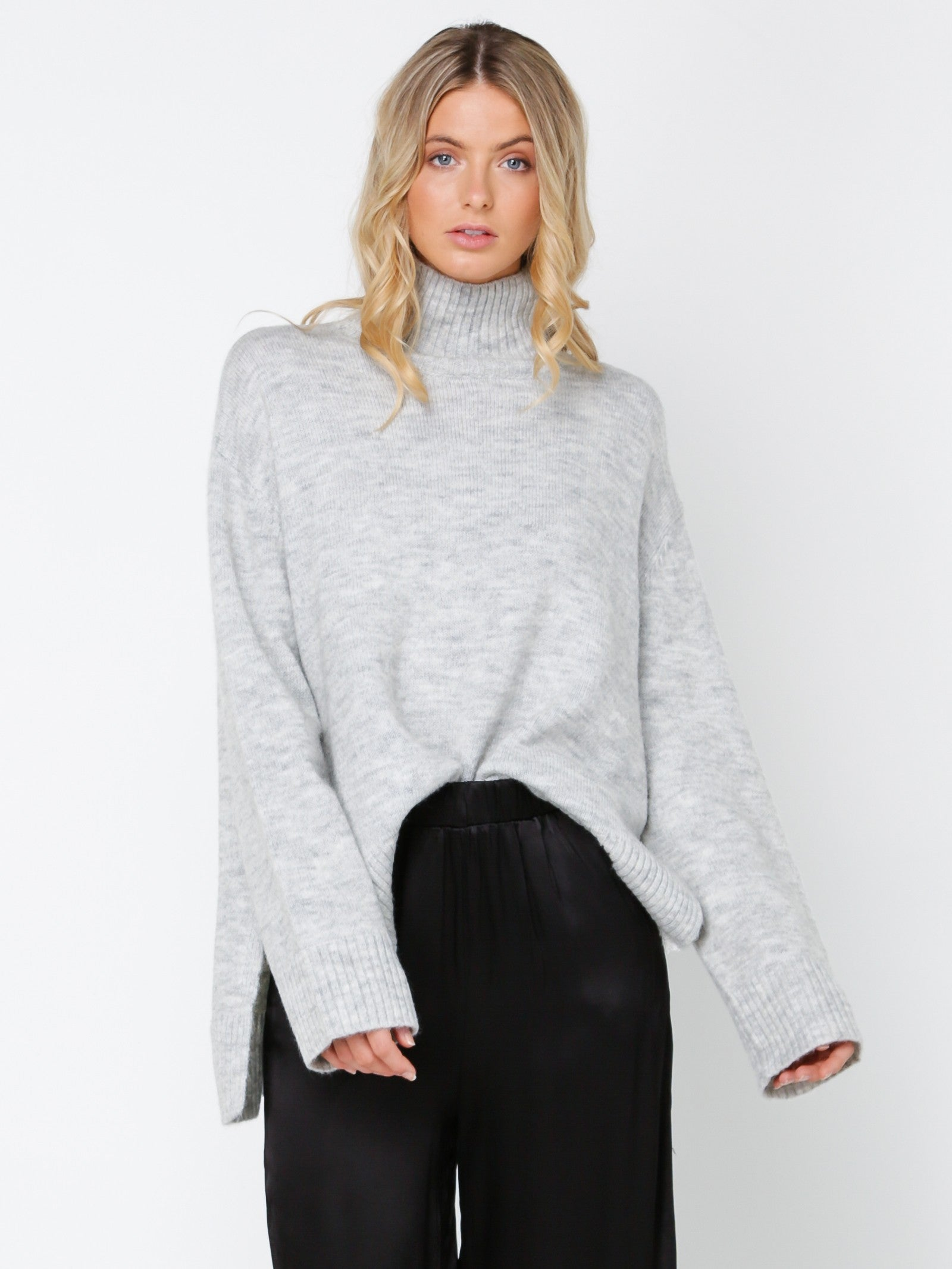 LULU + ROSE - Pyper Turtleneck Knit Top