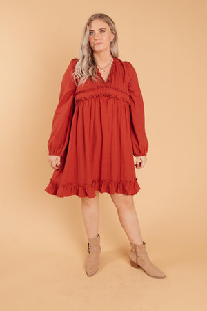 Ruffles and Reds Dress