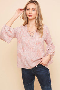 Saints & Hearts Mauve Top