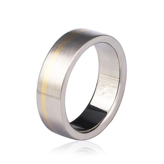 18ct Gold Gents Wedding Ring