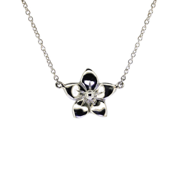 Forget Me Not Necklace (Sterling Sliver)