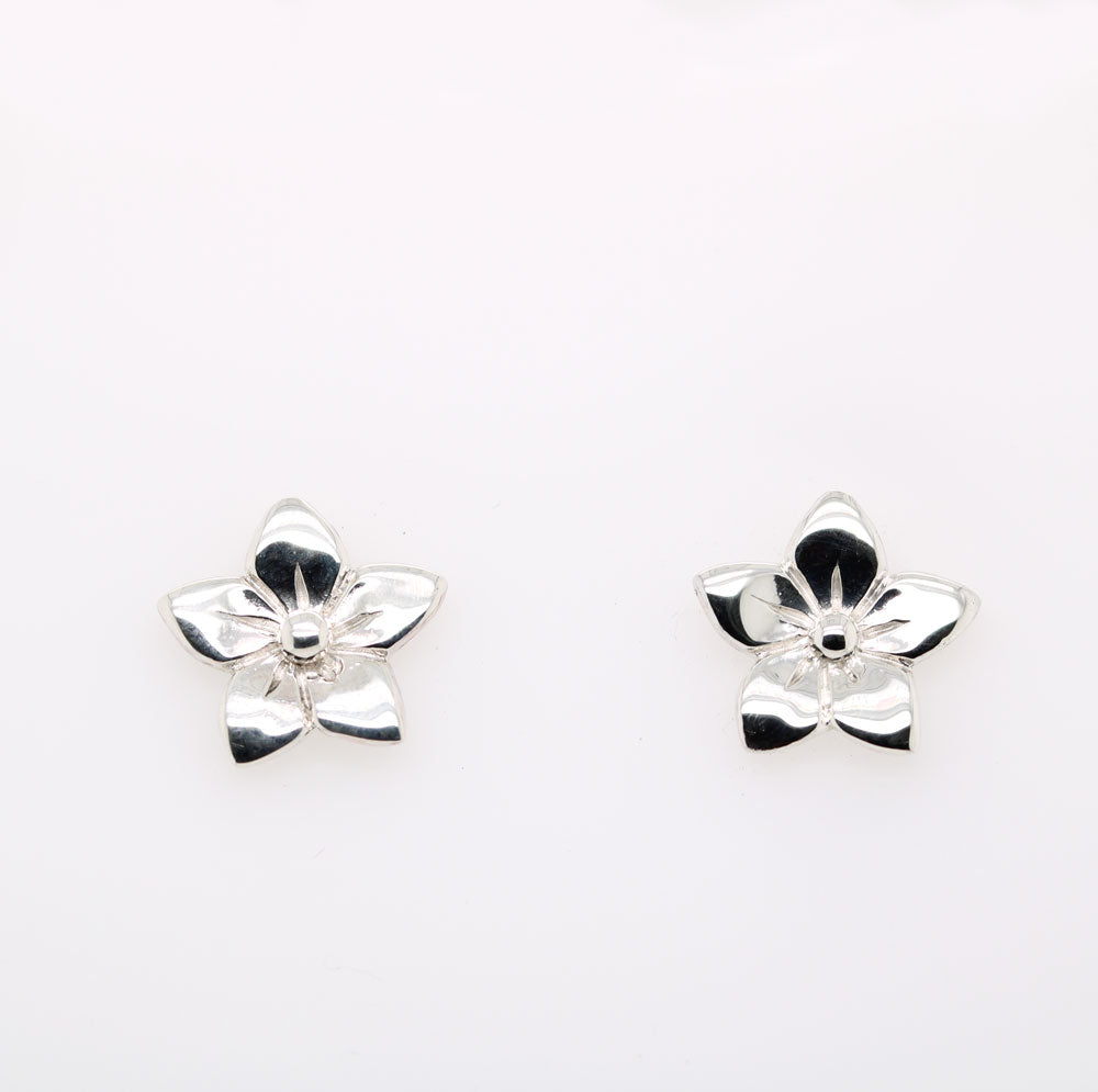 Forget Me Not Stud Earring (Sterling Sliver)