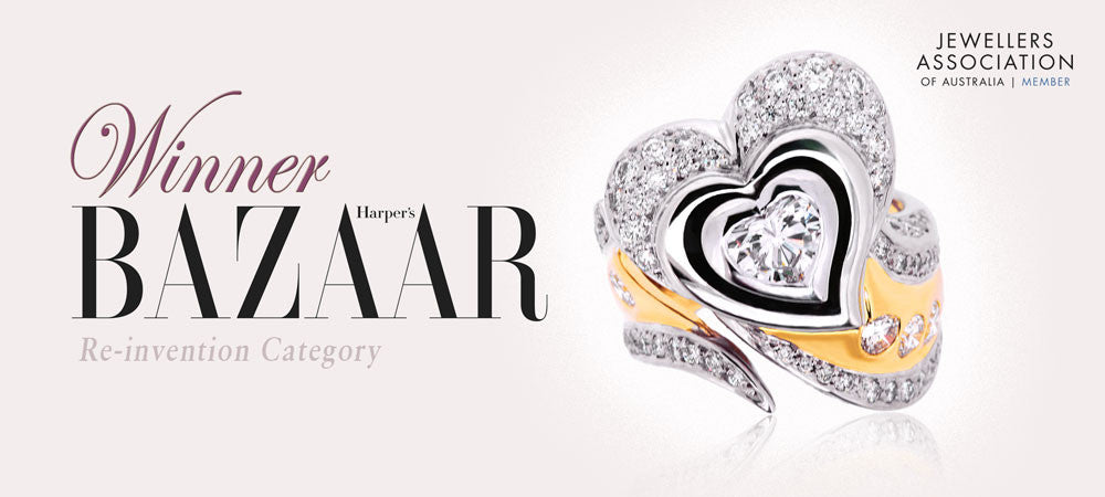 Winner Harper's Bazaar Re-invention Category 2009, Heart Shaped Diamond Ring