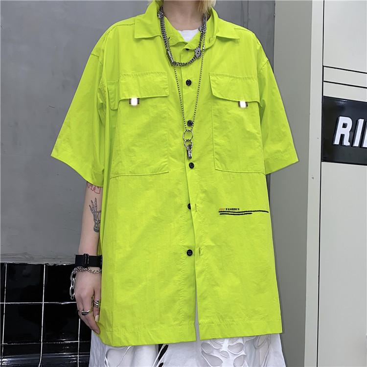 COOL POCKET CARGO SHIRT