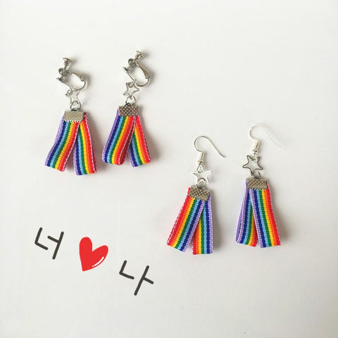 RAINBOW BELT EARRINGS