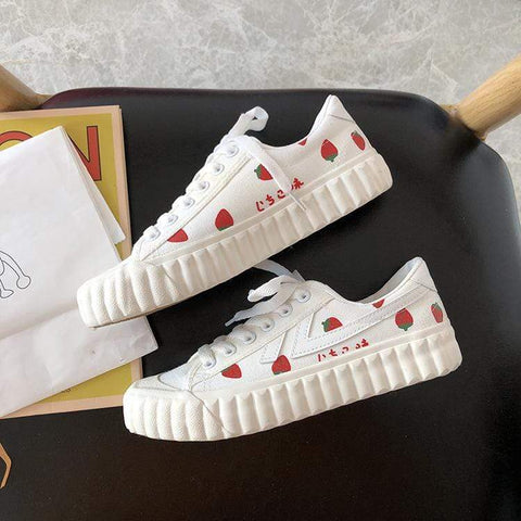 STRAWBERRY CASUAL SHOES (4.5-8.5)