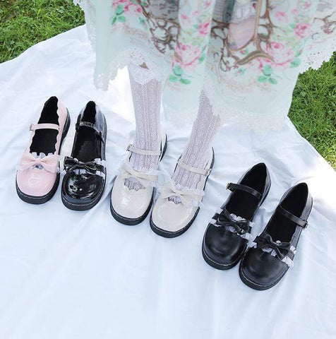 LOLITA BOW SHOES (4.5-8.5)