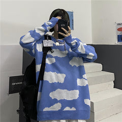 CLOUD KNIT PULLOVER SWEATER