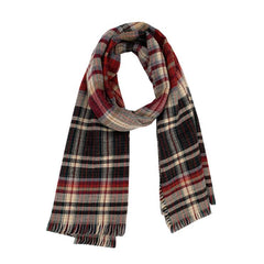 JAPANESE CASHMERE PLAID SCARF