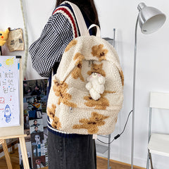 PLUSH BEAR BACKPACK