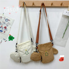 FUN GLOVES CORDUROY BAG